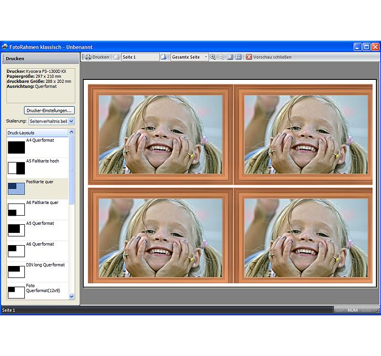 Foto-Rahmen klassisch