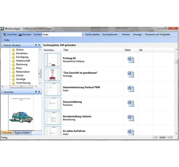 Kauf Downloads Vorlagen Wordvorlagen 2000 Private Briefvorlagen