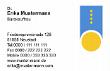 Visitenkarte mit Logo oder Icon verzieren
