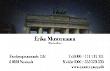 Foto-Visitenkarte mit Hintergrundfoto
