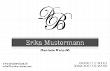 Visitenkarte - Logokarte