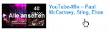 komplette YouTube Playlisten können ausgewählt werden
