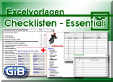 Excel-Checklisten - Essential