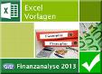 Excelvorlage Finanzanalyse 2013