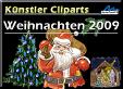 Künstler Cliparts Weihnachten