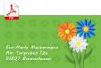 Design Adress-Etiketten (Motiv: Blume, grün)