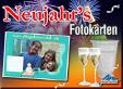 Neujahr Foto Karten 1.5 Professional-E
