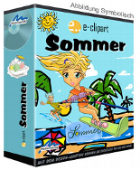 Künstler Illustrationen Sommer