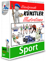 Künstler-Illustrationen - Sport
