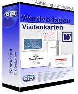 Wordvorlagen Visitenkarten