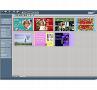 Foto-Grusskarten: Programmoberfläche mit den Ausschnittkarten