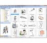 Medizin & Gesundheit: In Kategorien geordnet, betrachten mit dem Clipart-Browser