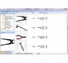 Künstler-Illustrationen Werkzeug - Detailansicht mit allen relevanten Daten
