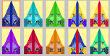 Viele Farbvarinaten und Motive
