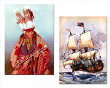 Historische Karten: 2 der viele Motive
