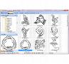 Keltische Zeichen: Praktischer Browser zum Betrachten aller Illustrationen