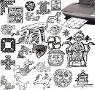 Grosse Auswahl an Keltischen Zeichen
