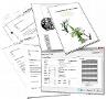 Private Briefvorlagen: Über die Druckfunktion lassen sich Vorschauen ausdrucken