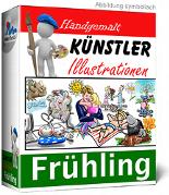 Künstler-Illustrationen - Frühling