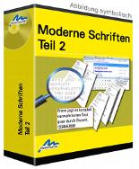 Moderne Schriften 2